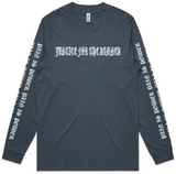 Machine Of War Petrol Blue Longsleeve