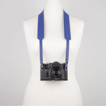 Load image into Gallery viewer, Navy blue camera strap