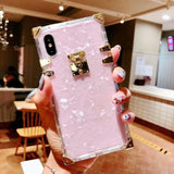Fashion Square Clear TPU Case
