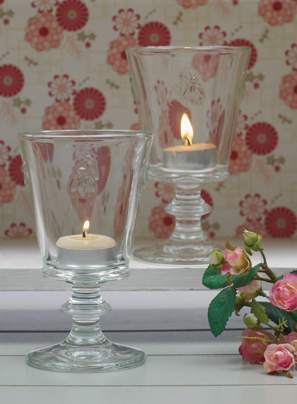 Queen B candles in Country Home Ideas