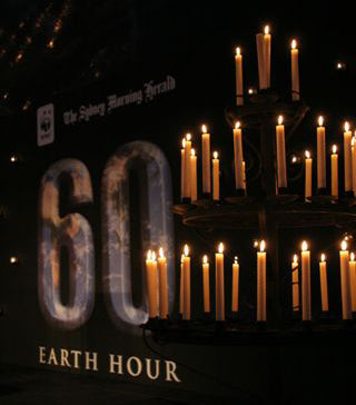 Earth Hour - Light a pure beeswax candle.