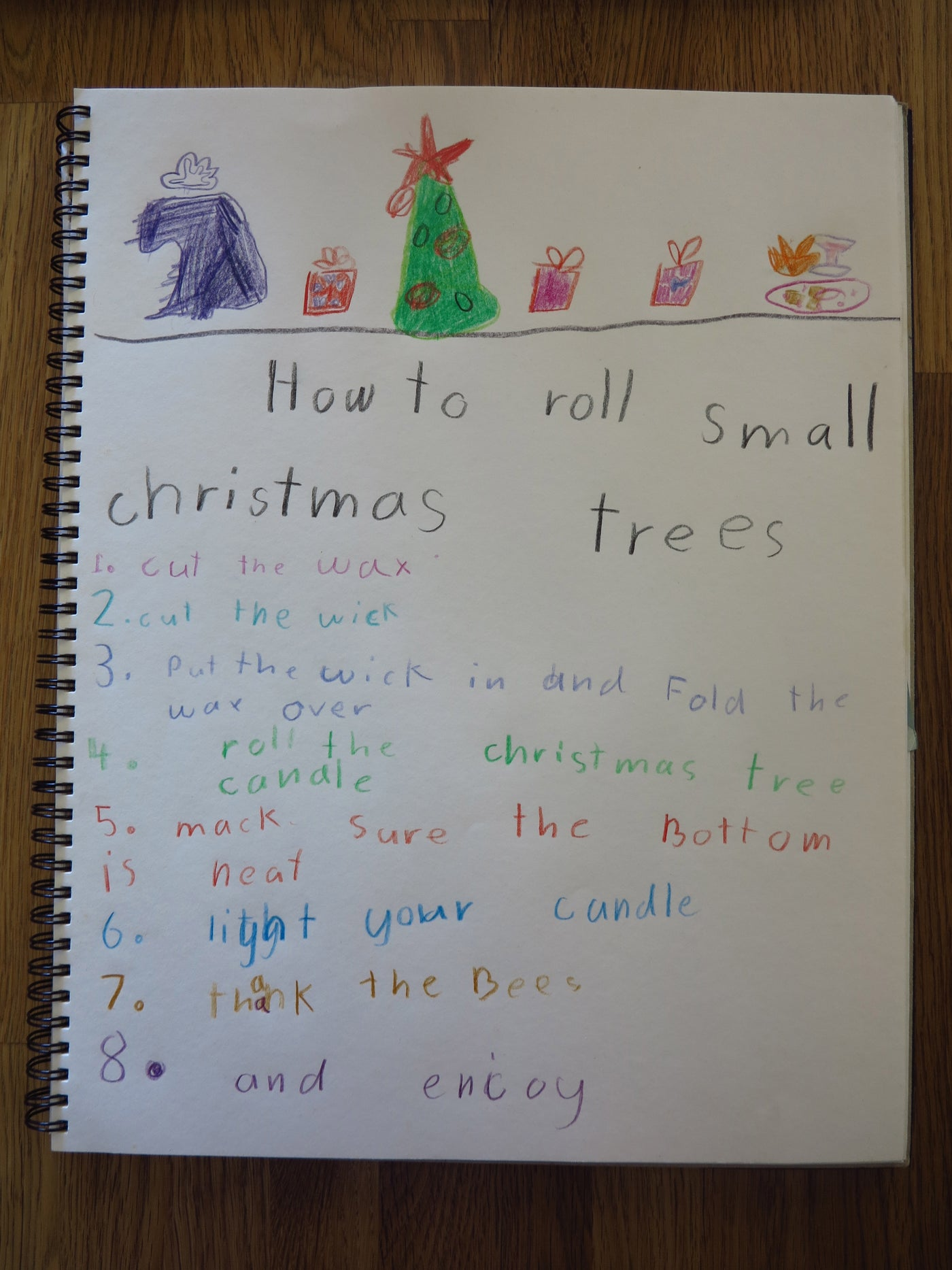 Make Your Own Christmas Gifts - 6 year old style