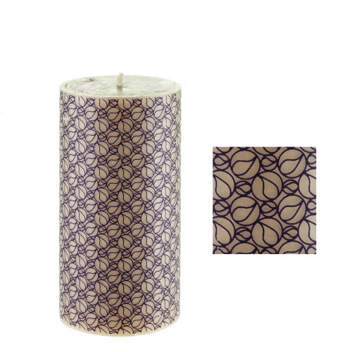 Bedelia surface design by ISCD student for Queen B beeswax candles