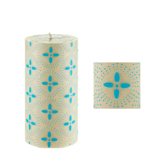 Starry Night surface design by ISCD student for Queen B candles