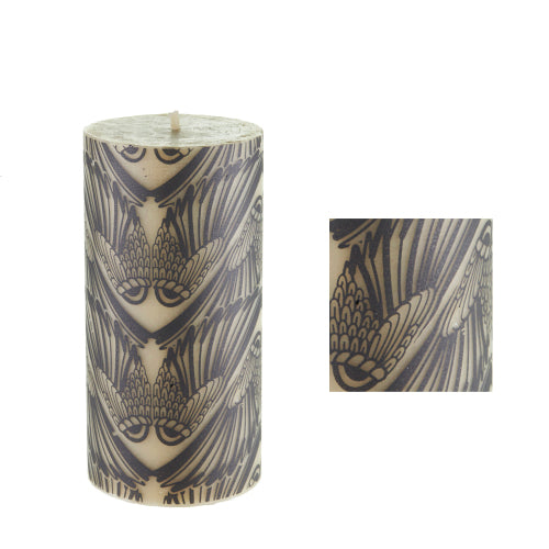 Wings surface design by ISCD student for Queen B candles
