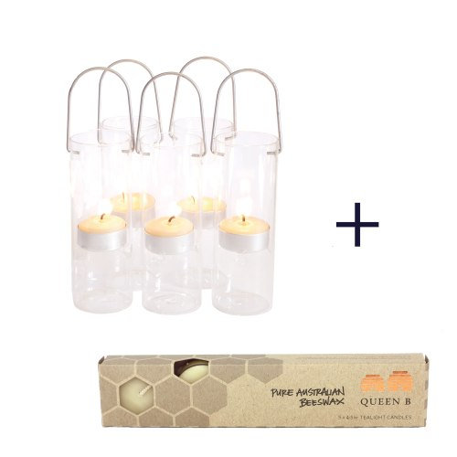 glass hurricane candle holders for beeswax tea light candles in clear cups