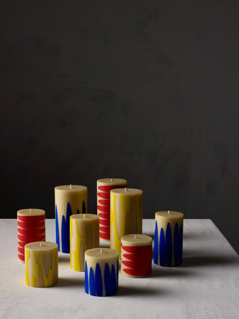 dinosaur designs atelier range of Queen B candles - individually hand made in Australia