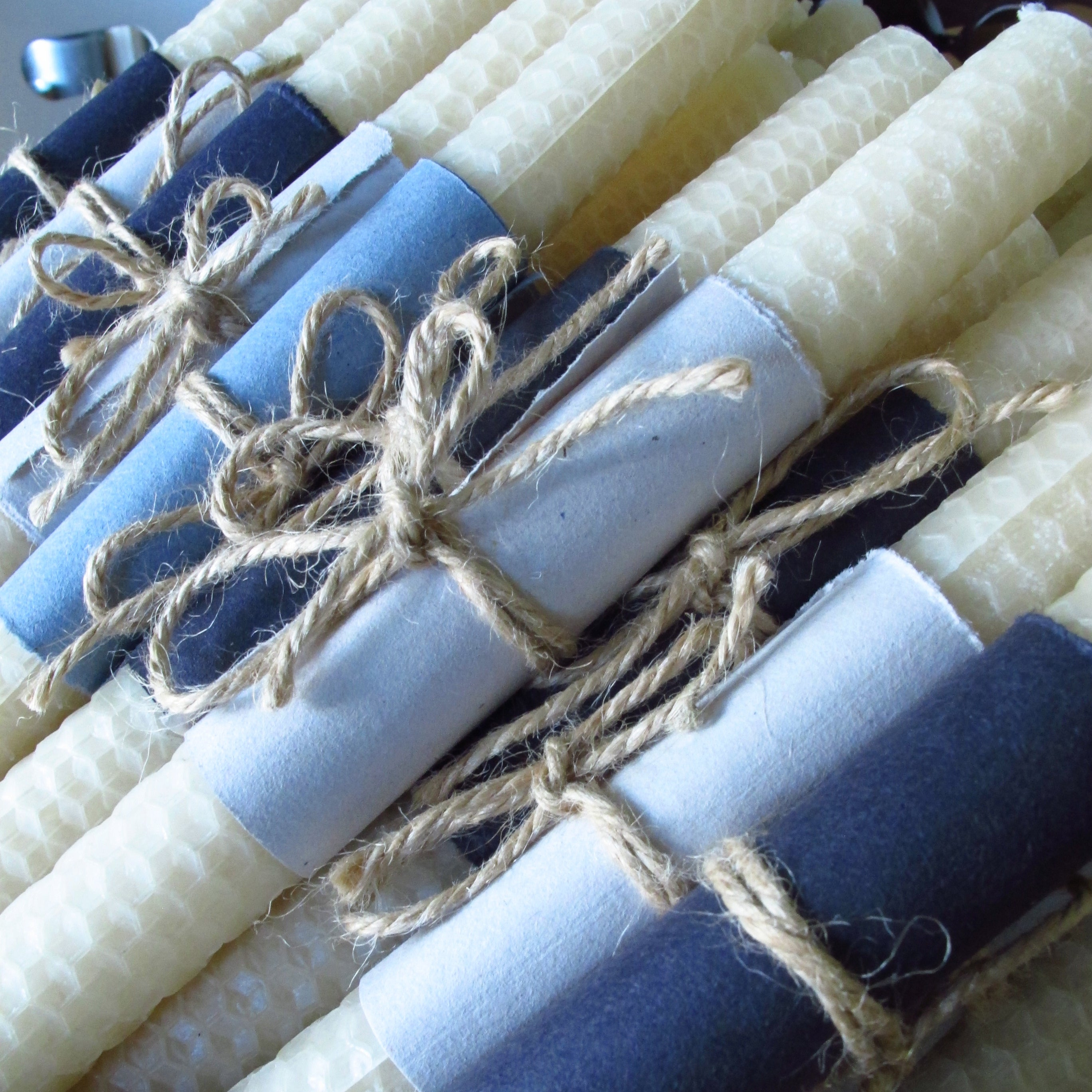 Perfect wedding gift, roll your own beeswax tapers