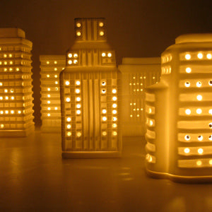 Skyscraper Tealight candle holders