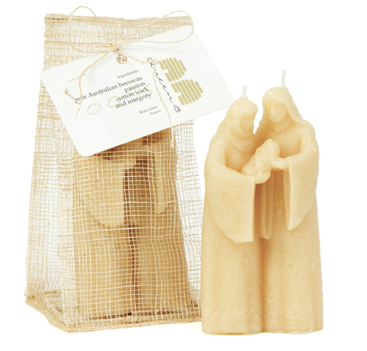 Mary Joseph & Baby Jesus packaging