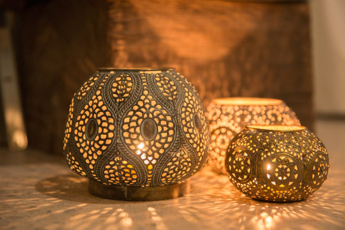 Round Cargo Lanterns in Small ($19.95), Medium (24.95) and Large ($34.95)