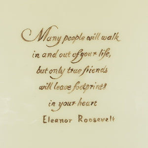 Personalised candle, eleanor roosevelt quote, friendship gift