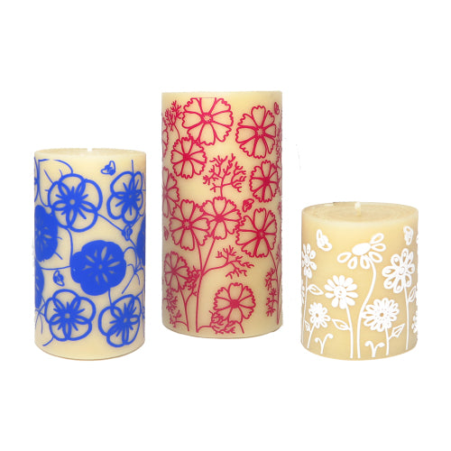 Design collaboration ISCD and Queen B - beautiful and functional beeswax candles