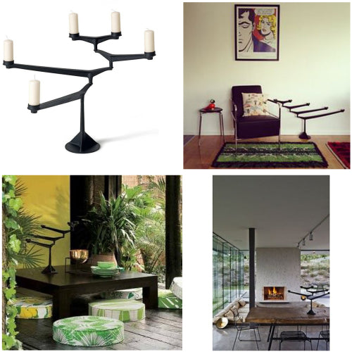 Tom Dixon Spin Candelabra from around the interwebs!