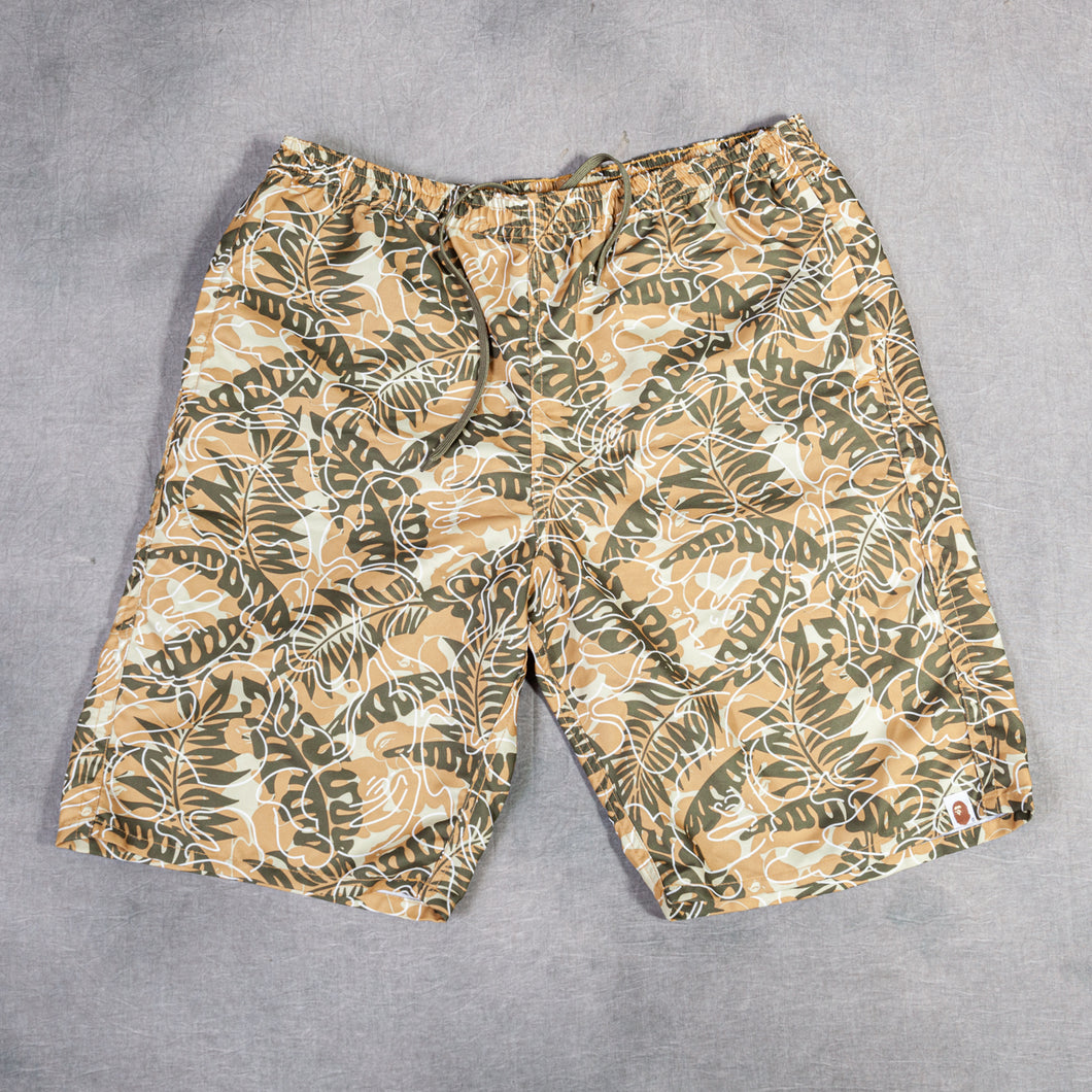 Bape Brown Pam Swim Short