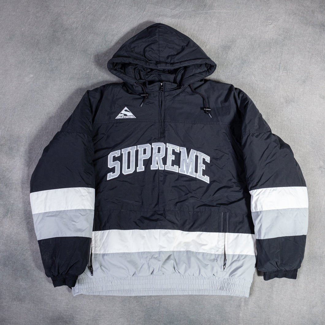 Supreme Puffy Hockey Pullover Black