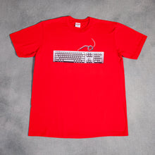 Load image into Gallery viewer, Supreme Keyboard Red Tee