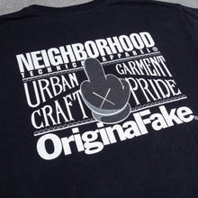 Load image into Gallery viewer, Neighborhood x Orginal Fake Black Tee