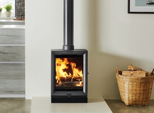 STOVE BUNDLE 4 Stovax View 5T Contemporary 5KW