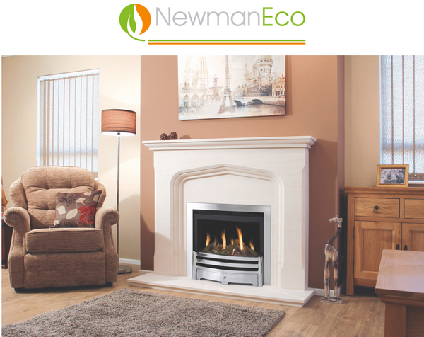 SHOMROOM ONLY Newman Elegance H/E Gas Fire