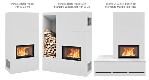 Nordpeis Q-23 Wood Burning Fires