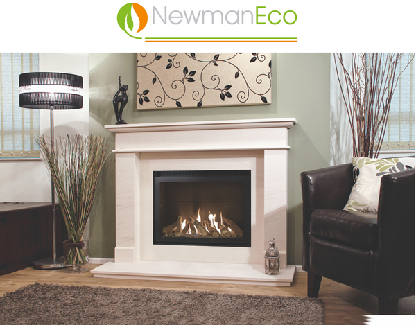 SHOWROOM ONLY Newman Eco View H/E Gas Fire COVID19% Off