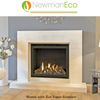 SHOWROOM ONLY Newman Eco Ultra Vision High Efficiency gas fire