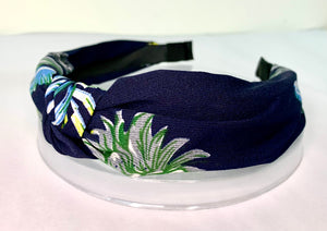Flamingo and Floral knotted head band collection