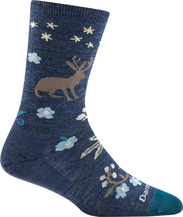 Darn Tough 6016 Women's Folktale Crew Lightweight Sock