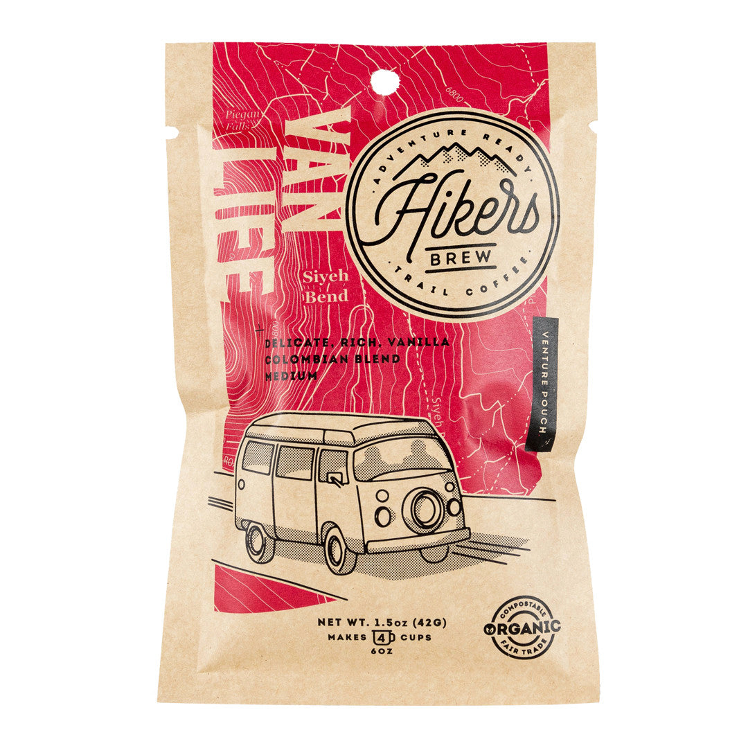 Hikers Brew Coffee | Van Life French Vanilla Coffee - Gear For Adventure