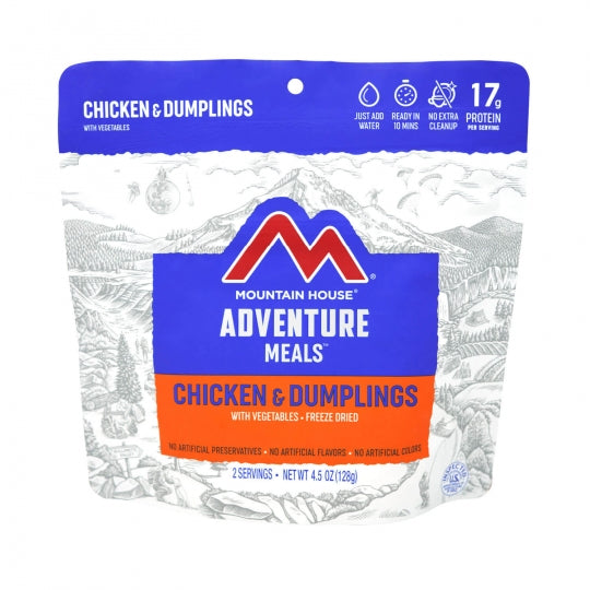 Mountain House Chicken and Dumplings - Gear For Adventure