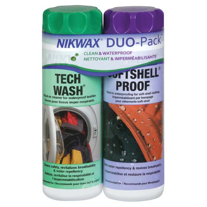 Nikwax Softshell Duo-Pack | 300mL