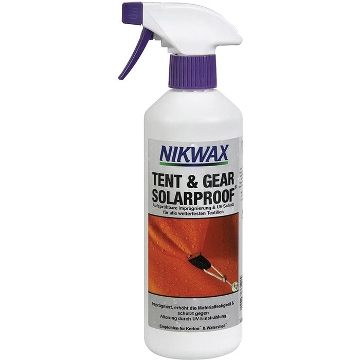 Nikwax Tent & Gear Solarproof 500ml/17oz.