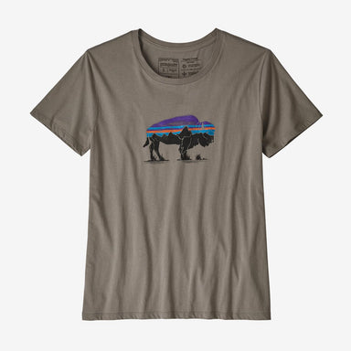Patagonia Women's Fitz Roy Bison Organic Crew T-Shirt 2020 - Gear For Adventure