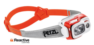 Petzl Swift RL Headlamp | 900 Lumens Orange - Gear For Adventure