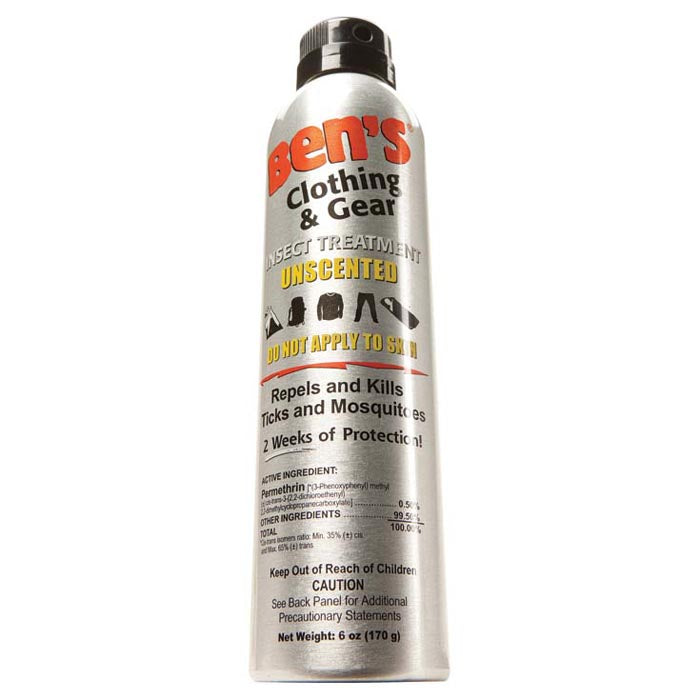 Ben's Clothing & Gear 6oz. Permethrin Insect Repellent - Gear For Adventure
