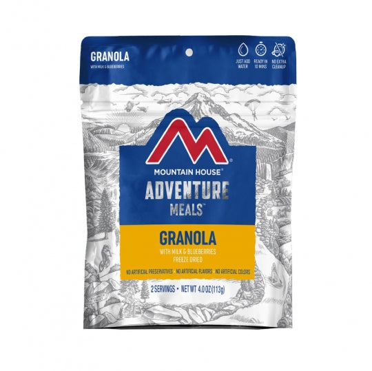 Mountain House Granola w/Blueberries & Milk Clean Label