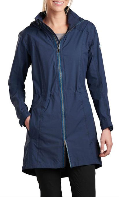 Kuhl Women's Jetstream Trench Rain Jacket - Gear For Adventure