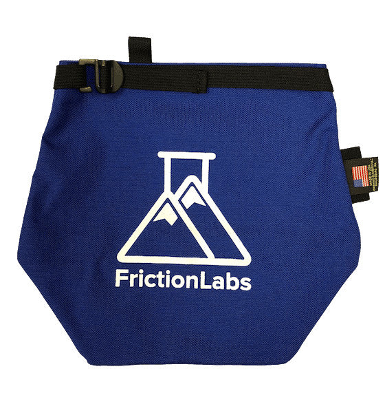 Friction Labs Chalk Bag Royal Blue - Gear For Adventure