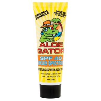 Aloe Gator SPF 15 Waterproof
