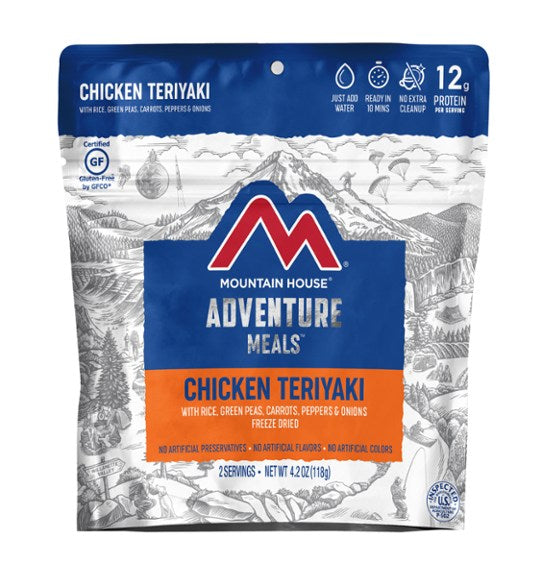 Mountain House Chicken Teriyaki Clean Label | 2 Servings - Gear For Adventure