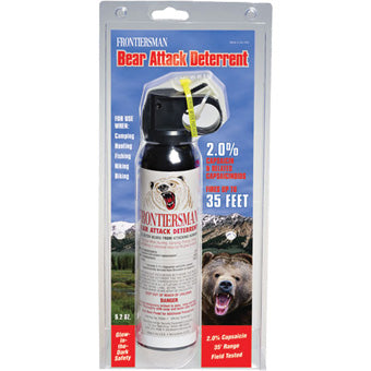 Frontiersman Bear Spray without Holster 9.2oz.