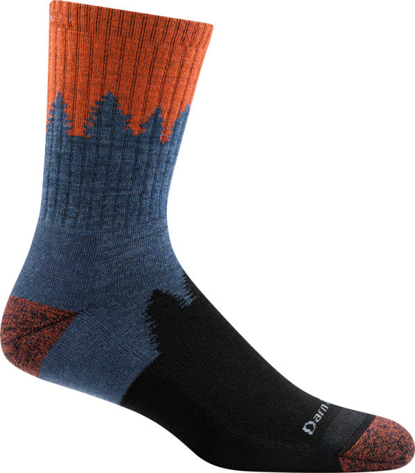 Darn Tough 1974 Men's Number 2 Micro Crew Midweight with Cushion Sock - Gear For Adventure