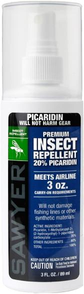 Sawyer Premium Insect Repellent Picaridin 3oz Spray