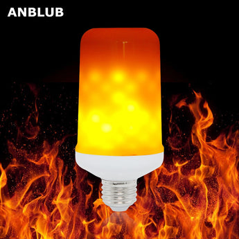 Dynamic Flame Effect LED Corn Bulb