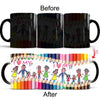 I love my family - Color Changing Ceramic Coffee Mug