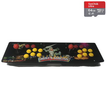 Two Players Retro Table Top Game Console