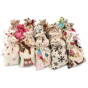 Gift Packing Exclusive Linen Cotton Bags