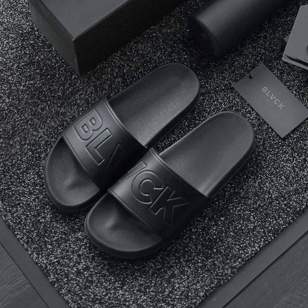 BLVCK SLIDES [BLVCK PARIS] ブラックサンダル