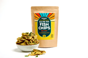 Salted Egg Fish Chips (4 oz)